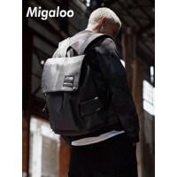 双肩包男士休闲旅行背包男包时尚潮流大学生青年大容量电脑书包潮