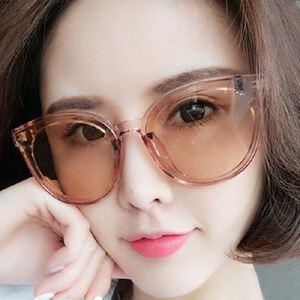 明星款眼镜时尚太阳眼镜女 果冻色潮流墨镜 蓝色大海的传说太阳镜