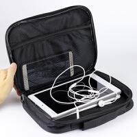 苹果iPad mini4保护套3迷你2内胆包包1小米平板电脑3壳防摔SN5132 黑色手提包