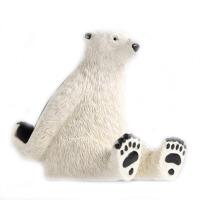 宇航员太空人手机支架熊猫苹果iPad支架平板电脑座创意摆件礼物 【北极熊】平板电脑支架 (坐立款)