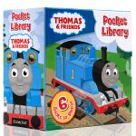 Thomas and Friends Pocket Library托马斯与朋友小小图书馆 英文原版儿童英语绘本6册手掌