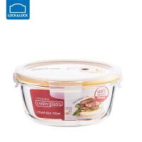 乐扣乐扣耐热玻璃保鲜盒带蒸汽孔长方形饭盒厨房冰箱微波炉 950ml LLG861T