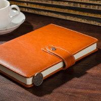 博文皮面商务工作本文具办公会议记录笔记本随身日记本记事本定制