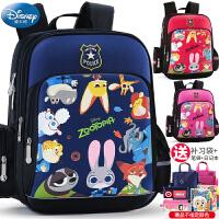 迪士尼儿童背包1一3年级男童女童书包小学生三男孩女孩护脊减负