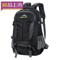 2018新款男士大容量双肩包登山旅行背包韩版潮女士电脑包旅游双肩背包