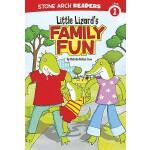 【预订】Little Lizard's Family Fun