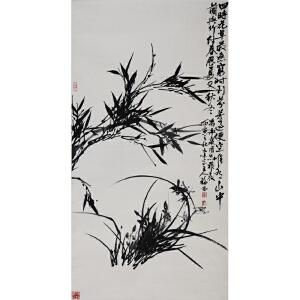 刘福林  《花草》  a562