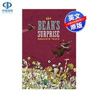 英文原版 熊的惊喜 精装大开本绘本 The Bear's Surprise 儿童艺术书