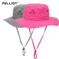 【部分商品两件75折】伯希和户外防晒帽夏季渔夫帽男女折叠遮阳帽太阳帽旅游帽子