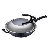 爱仕达 家系列铸铁炒锅 不粘平底煎锅两件套锅具套装组合 厨具套装 PH02A1Z