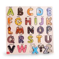 美国TOI宝宝数字母拼图积木男孩小女孩早教益智儿童玩具1-2-3周岁