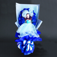芭比娃娃花束礼盒香皂花玫瑰花束礼盒情人节礼物生日礼物送女朋友 爱的宣言