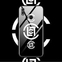 华为nova3i荣耀note10 8x max手机壳玻璃套软潮陈冠希clot同款
