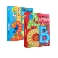【附音�l】My Awesome Alphabet Counting Book 2本�和��⒚�26��字母�~�R�卧~����20