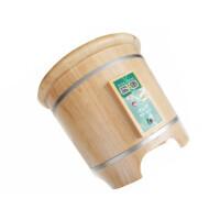 加热按摩磁疗恒温柏木洗脚泡脚盆木桶足浴桶木盆深桶