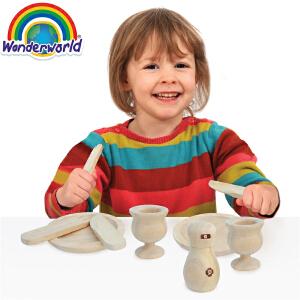 [当当自营]泰国Wonderworld 餐桌套系 过家家角色扮演益智玩具 厨房厨具配件