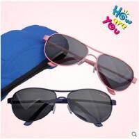 户外眼镜小学生墨镜男女孩大童太阳眼镜8-15岁青少年儿童偏光太阳镜