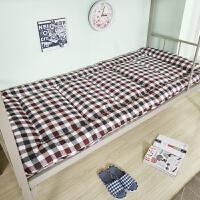 冬季加厚榻榻米折叠床护垫学生宿舍上下铺单人双人软薄床褥子