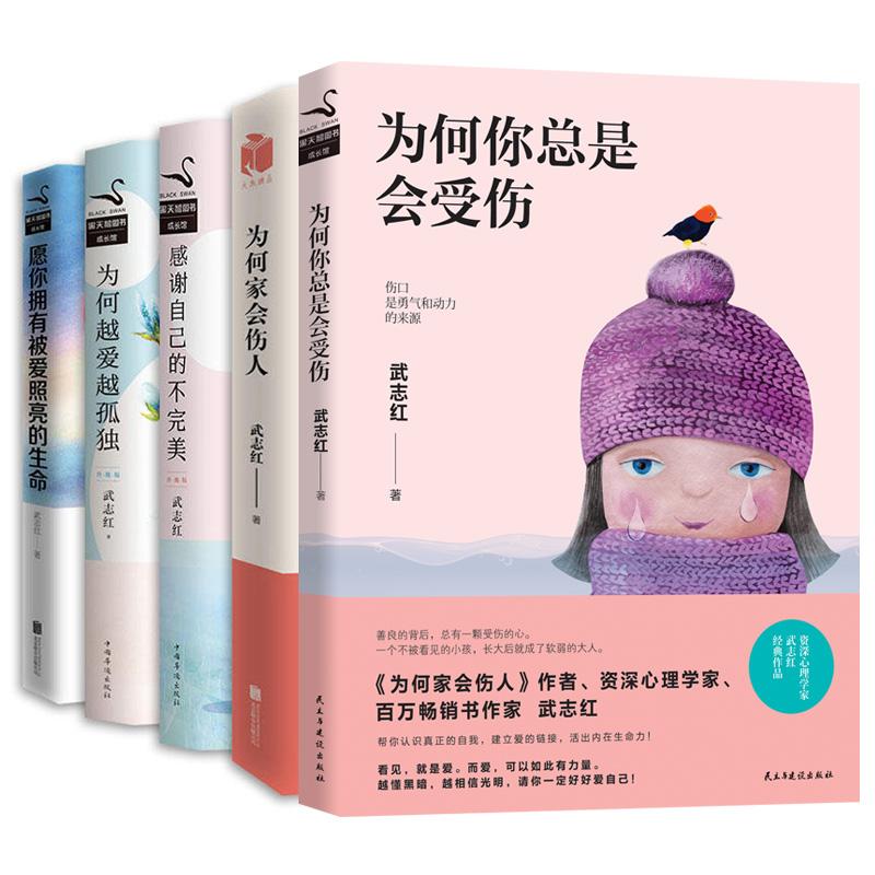 武志红心理学套装(共五册)