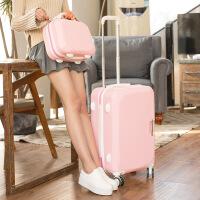 小清新万向轮密码旅行箱行李箱拉杆箱20寸24寸男女拉箱潮登机箱26