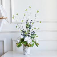 仿真蝴蝶兰套装假花绢花装饰花兰花客厅摆设花艺花瓶盆栽摆件