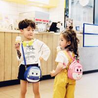 Hug Bear儿童小背包男儿童幼儿园宝宝出游小包 1-3-5岁男女双肩斜跨两用包潮