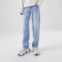 【1件3折价:80.7,可叠券】美特斯邦威羽绒服 男休闲牛仔洗水萝卜裤