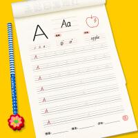 学前启蒙描红天天练 英语描红A-Z 幼儿园学前班3-6岁儿童幼小衔接整合教材幼儿早教书籍