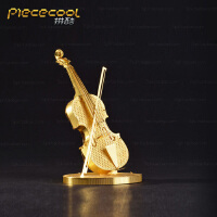3D立体全金属拼图-小提琴 高难度拼装模型玩具 创意生日礼物