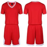 新款短袖勇士篮球服套装 男空板 公牛骑士篮球衣定制 比赛运动队服印字印号