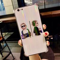 潮牌苹果iPhone7/8plus手机壳防摔iPhone8x保护套6sp软壳情侣女款iPhone6s