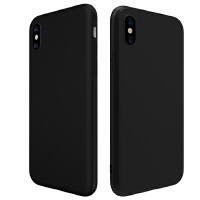 iPhone7夏天手机壳苹果8Plus套6P黑色磨砂XSRMAX全包软硅胶防摔汗