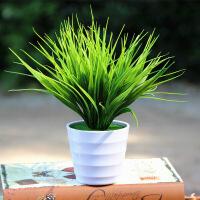 仿真植物四叶草幸运草绿植室内外装饰塑料盆栽绿萝假花仿真花