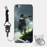 苹果6s手机壳6p外iPhone7plus套8全包硅胶日韩创意卡通火影忍者A1