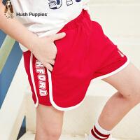 暇步士童装男童短裤夏装新款儿童三分裤运动裤洋气中大童裤子