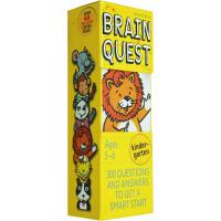 英文原版 Brain Quest Kindergarten 智力开发卡片书 [5-6岁]