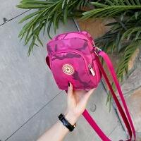 新款零钱包单肩斜跨迷你小包时尚简约迷彩纹手机包散步随身轻便包