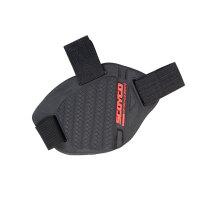 护鞋胶摩托车档杆套装备护鞋套挂档胶机车换挡保护套赛车护具 均码