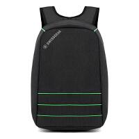 SWISSGEAR  商务背包 男女士15.6英寸USB充电口防盗休闲出差旅行笔记本电脑双肩包