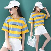 童装女童夏季套装韩版时尚潮衣大童夏装女孩衣服