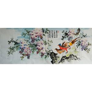 香风留*  现代画家  杨丽