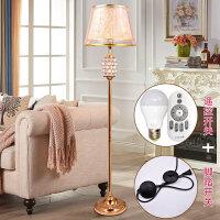 欧式落地灯卧室客厅创意简约现代北欧地灯立式台灯落地灯网红