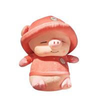 流氓猪公仔猪宝宝毛绒玩具布偶娃娃小猪玩偶可爱女生睡觉抱超萌女 粉色