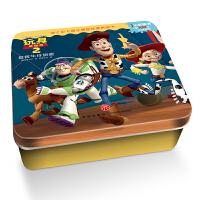 迪士尼卡通全明星铁盒拼图书:玩具总动员2・拯救牛仔胡迪
