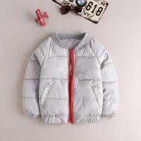 儿童棉衣男童冬装加厚羽绒服棉衣宝宝外套童