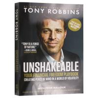 坚定不移 英文原版 Unshakeable 唤醒心中的巨人作者 Tony Robbins 英文版原版经济学书籍 进口英语书