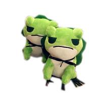 旅行青蛙周边青蛙儿子公仔玩偶毛绒玩具抱枕靠垫女友生日礼物