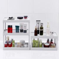 多层桌面收纳架宿舍寝室塑料书桌层架厨房置物架浴室化妆品储物架
