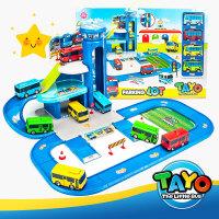 韩国泰路TAYO巴士 动漫可爱回力小汽车太友小公交车儿童卡通玩具