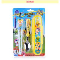 韩版儿童餐具宝露露宝宝训练筷勺小孩学习筷练习筷子套装